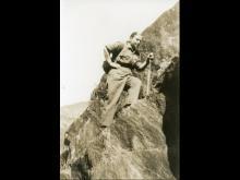 Maria Peron, partigina crocerossina della 85. Brigata Valgrande Martire. Valgrande, sul sentiero per Cossogno. 3 giugno 1944.
